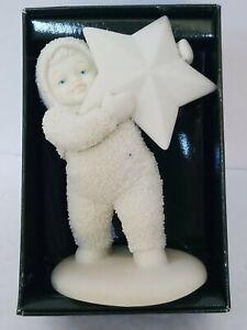 """Dept 56 Snowbabies Cuentos de Invierno """"he encontrado la mayor estrella de todos"""" con Caja (#68748)"""