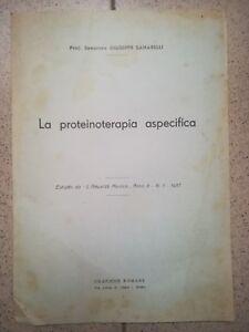 Le Prix Le Moins Cher La Proteinoterapia Aspecifica Sanarelli 1937 Medicina