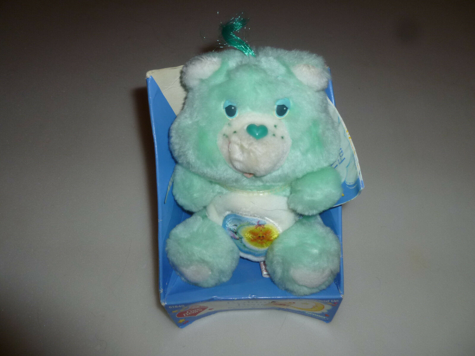 NEW IN BOX BEDTIME BEAR  CARBEAR 6  PLUSH KENNER 1985 VINTAGE RARE 61840 NWT NIB
