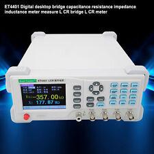 Digital Bridge Lcr Meter Resistance Impedance Inductance Tester Usb Rs232
