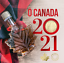 thumbnail 1 - 2021 'O Canada' Gift Card Set of 5 coins SPECIAL $1 COIN ONLY COMES IN THIS SET