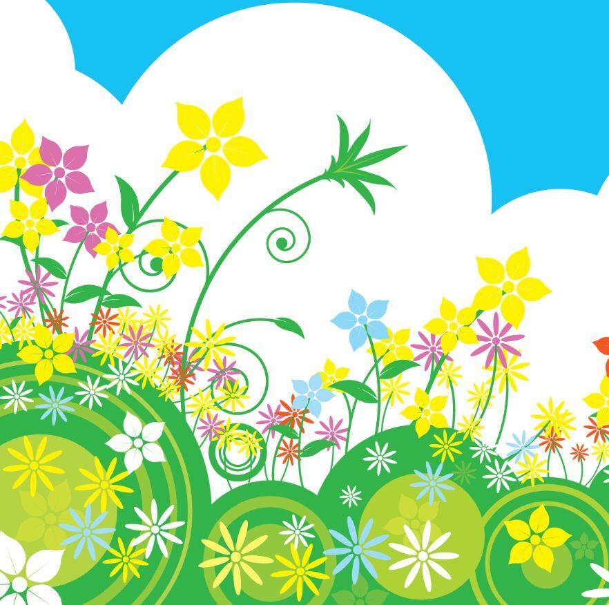 3D Fleur Couleur 57 Photo Papier Peint en Autocollant Murale Plafond Chambre Art