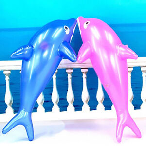 WO-EG-Inflatable-Dolphin-Fish-Swimming-Pool-Beach-Party-Kids-Toy-PVC-Prop-50CM