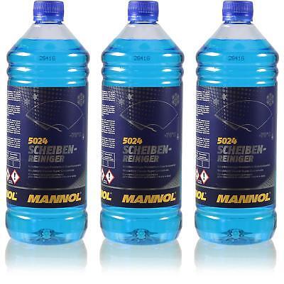 Aspirante 3x1 Litro Originale Mannol 5024 Dischi-detergente Per -70 ° C Antigelo Concentrato-ger -70 °c Frostschutz Konzentrat It-it Attraente E Durevole