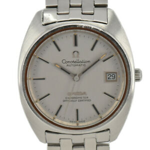 Auth-OMEGA-Constellation-Cal-1011-Chronometer-Automatic-Men-039-s-Watch-I-92672