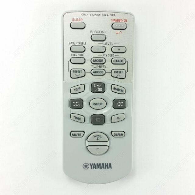 V7769300 Remote Control for Yamaha CRXTS10 CRXTS20 TSX10 TSX15 TSX20