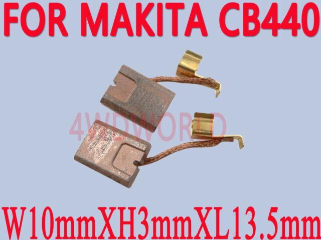 Carbon Brushes For Makita CB-440 BHP458 18 V BDF452 BHP454 LI-ION BATTERY DRILL