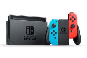 Nintendo-Switch-32GB-WIFI-CONSOLE-Neon-Rosso-Blu-1-anno-di-garanzia-Nuovo-di-Zecca