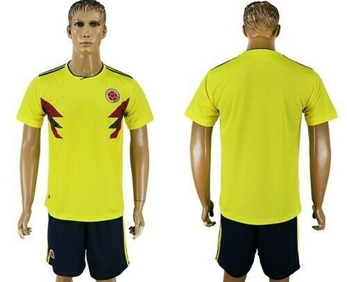 20 Colombia huis Soccer Uniformannen  14 elk --Jersey en korts (Kies maten)