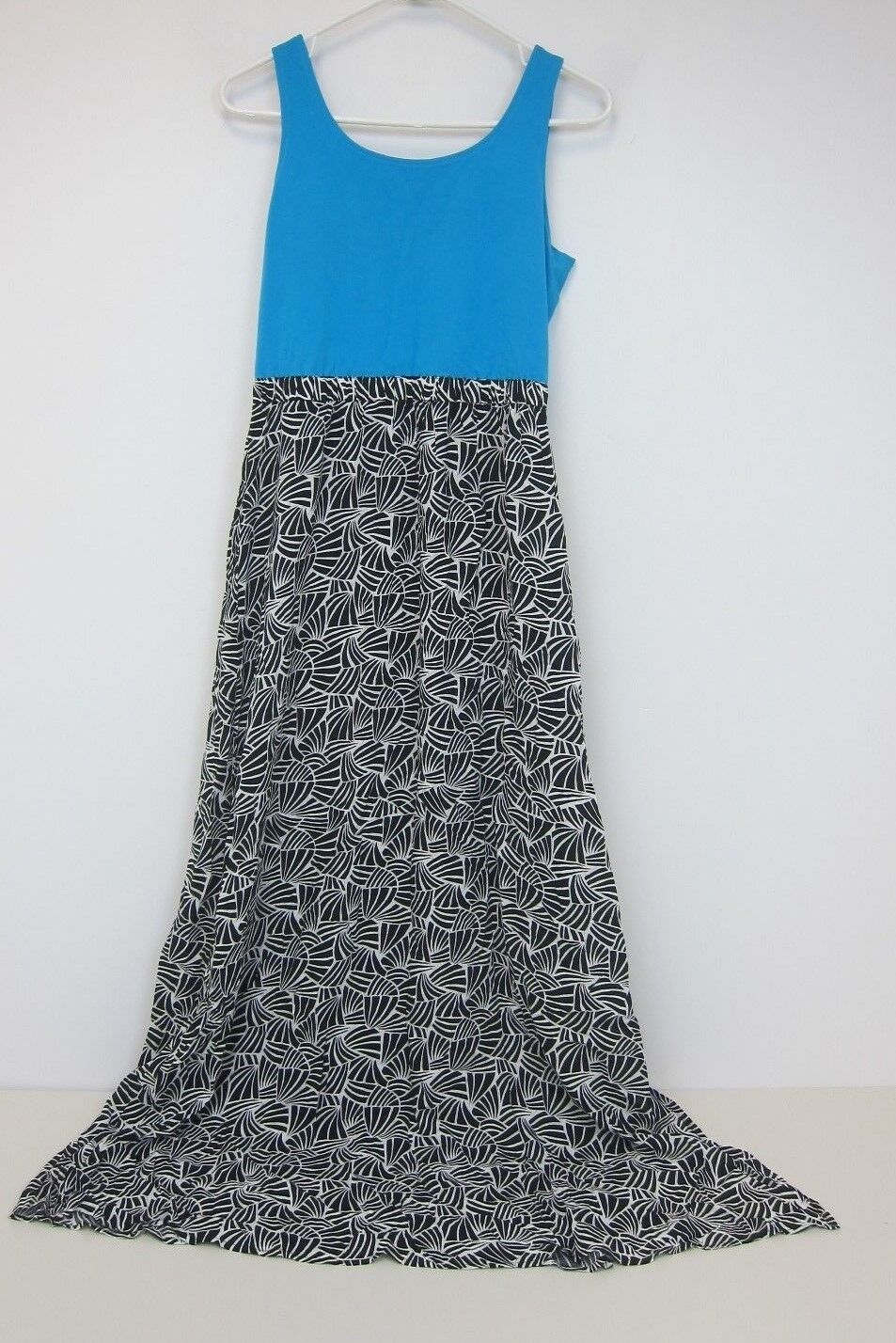 Brooklyn Industries Bella Maxi Dress - damen Medium - schwarz Blau - NWT
