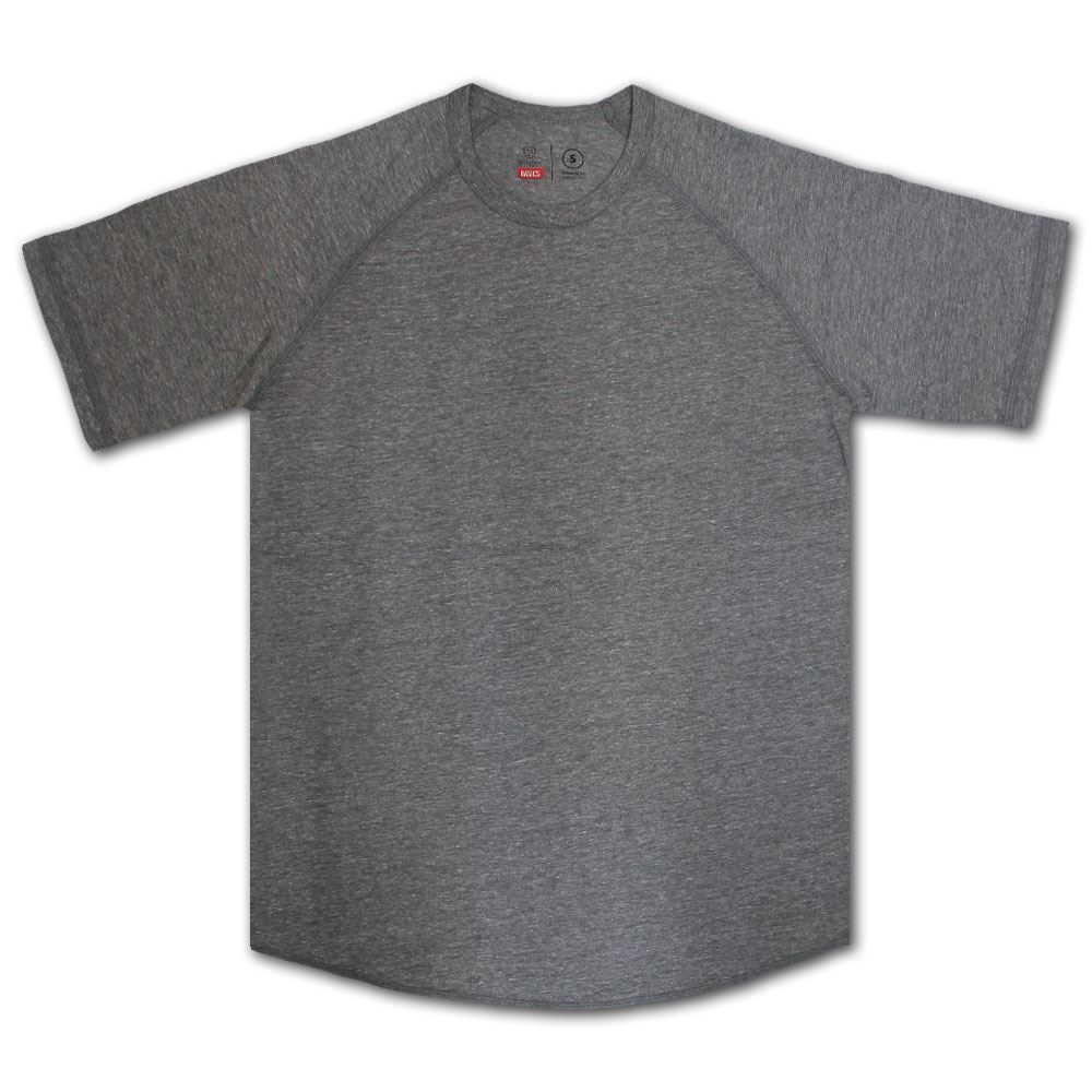 Brixton Basics Baseball T-Shirt Grau | Verrückter Preis  Preis  Preis  | Die erste Reihe von umfassenden Spezifikationen für Kunden  4d297f