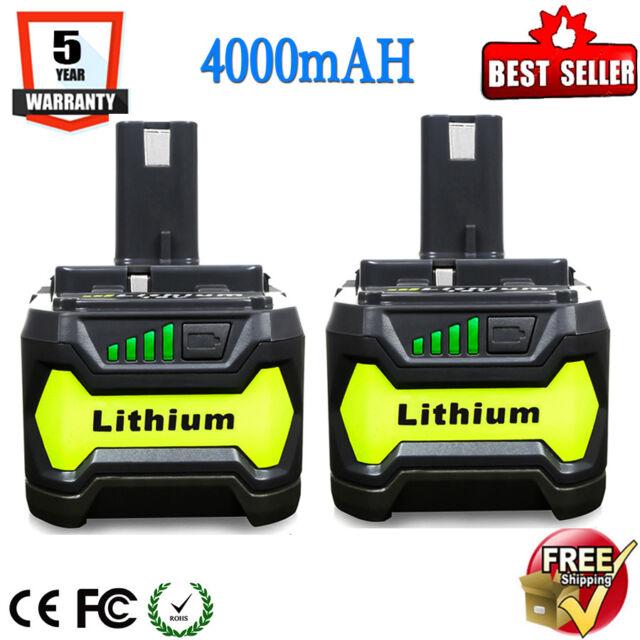 Ryobi Akku 18 V 5,0 Ah Lithium Ionen Batterie one Plus 1 Stück RB18L50 OVP