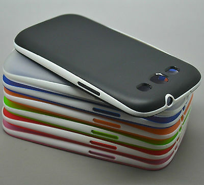 Ultra-Thin Soft Translucent Rubber Bumper Case Cover For Samsung Galaxy S3 i9300