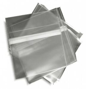 100-Pak-RESEALABLE-Plastic-Wrap-SLIM-CD-Sleeves-for-5-2mm-Jewel-Cases