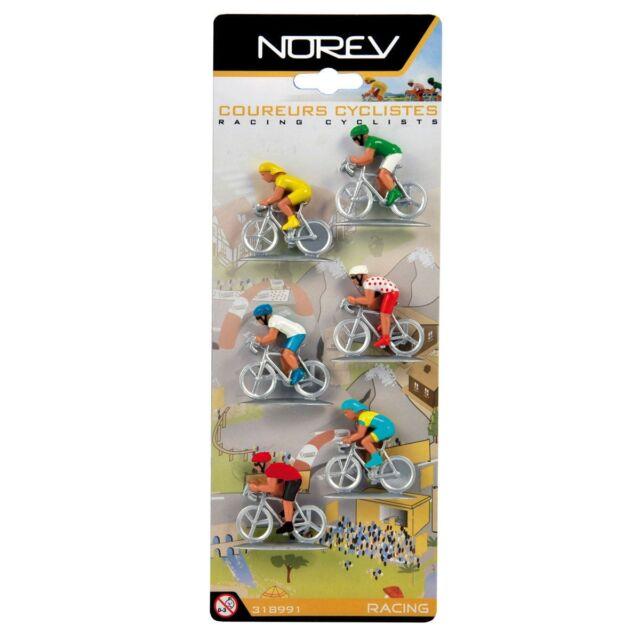 Norev  318991 6 Cyclistes Tour de France 1/43