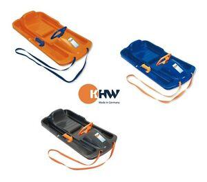 1-Snow-Fox-Lenkschlitten-mit-Bremse-Rodel-Bob-Schlitten-Kinderschlitten-KHW