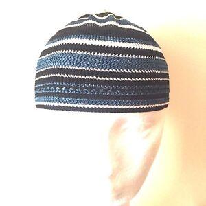 0c0fa919b61 Cap prayer Muslim kid Men Namaz Skull Topi Kufi Hat Head wear child ...