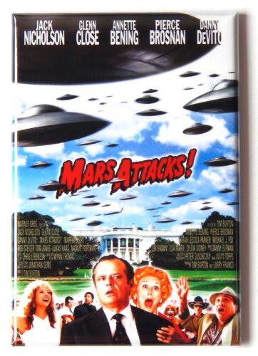 "Mars Attacks FRIDGE MAGNET movie poster /""style B/"""