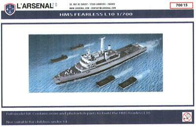 L/'Arsenal Models 1//700 AUDACE TORPEDO BOAT Resin /& Photo Etch Model