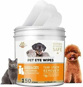 150-Pads-Pet-Eye-Wipes-Eye-Tear-Stain-Remover-Wipes-for-Cats-amp-Dogs-Eye-Crust-Tr