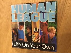 Human-League-Life-on-your-own-used-7-vinyl-record