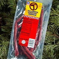 Tillamook Pepperoni Sticks 12 Oz Beef Jerky Protein Meat Sausage Snack Camping