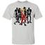 Donald-Trump-Thriller-Halloween-Costume-Zombie-Werewolf-Funny-Jackson-TShirt miniature 53