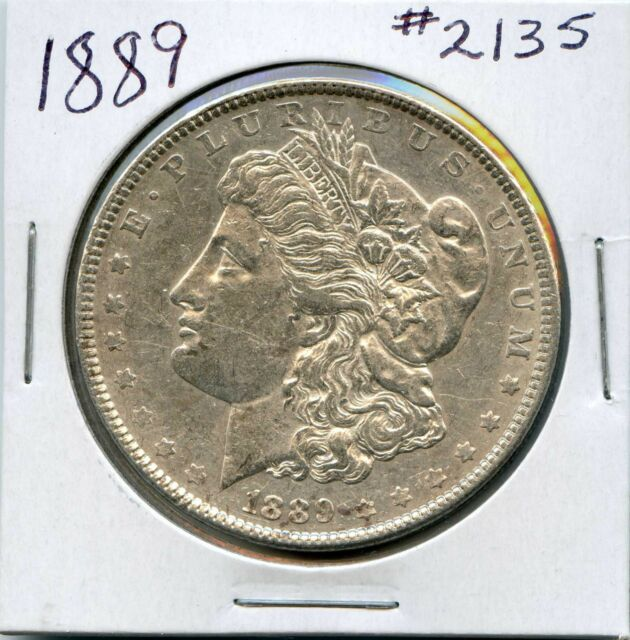 1889 1 Morgan Silver Dollar For Sale Online Ebay