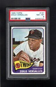 1965-TOPPS-157-ZOILO-VERSALLES-MINNISOTA-TWINS-PSA-8-NM-MT-SHARP-CARD