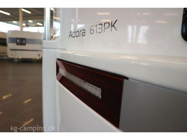 Adria Adora 613 PK Teen, 2021, kg egenvægt