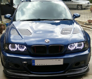 Details About Angel Eyes E36 E46 Dtm Halo Rings With Bar