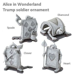 disney alice in wonderland garden décor garden ornament  type, Garden idea
