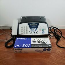 Brother Fax 575 Personal Plain Paper Fax With Phone And Copier Plus Cartridge