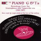 The Piano G& Ts Vol.1 von Ronald,Michalowski,Pachmann (2005)
