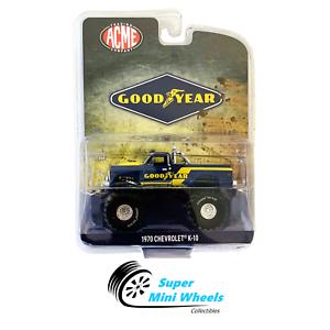 Greenlight-1970-Chevrolet-K-10-Monster-Truck-ACME-Goodyear-Tires-1-64-IN-STORE