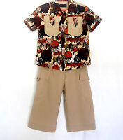 Handcrafted Safari Suit For Boys 4 (four) Years
