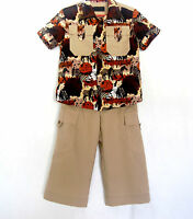 Safari Suit For Boys 4 (four) Years