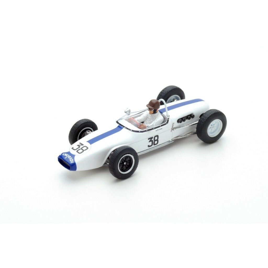 1 43 Lotus 18 francés GP 1961 Ian Burgess