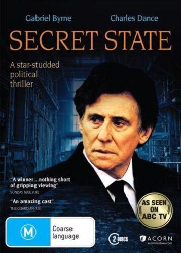 1 of 1 - Secret State (DVD, 2014, 2-Disc Set) New & Sealed