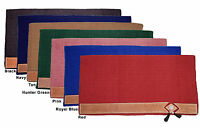 Tahoe Classic Zealand Wool Show Saddle Blanket With Wear Leathers