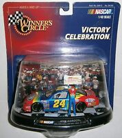 Jeff Gordon 24 Winner's Circle 1999 Victory Celebration Million Dollar Win 1:43