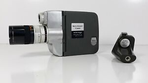 Bell-amp-Howell-Canon-Motor-Zoom-8-EEE-8mm-Movie-Camera-With-Handle-Untested-READ