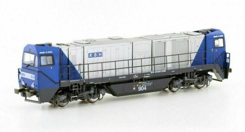 Mehano 58902 Locomotora Diésel G2000 Rbh con Asymetrichem Cabina Del Conductor