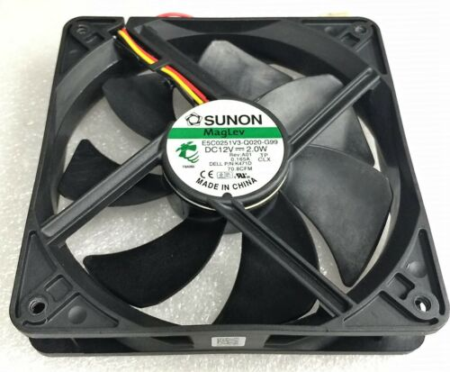 Dell Vostro 410 420 Tower Case Fan 120x25mm PN K471D