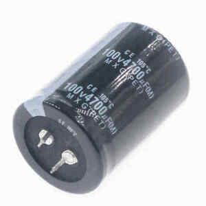 100V-150uF-220uF-330uF-680uF-1000uF-2200uF-3300uF-4700uF-Electrolytic-Capacitor