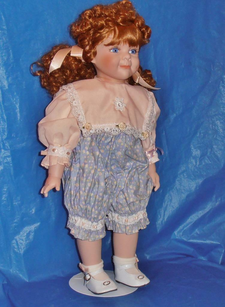 William Tung,  Porcelain Doll ( Jamie  ) Vintage, Limited Edition, COA