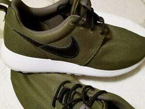 Olive Green Black Nike Roshe One 599728