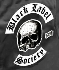 BLACK LABEL SOCIETY BLS IRON-ON NEW ZAKK WYLDE LARGE PATCH SET for JACKET BACK