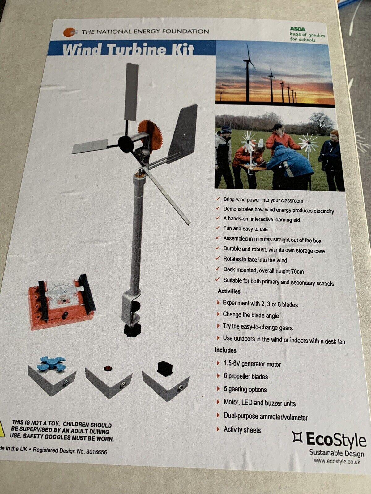Wind Turbine Kit Project Education RPR