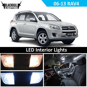 Details About White Led Interior Light Accessories Kit Map Dome For 2006 2017 Toyota Rav4